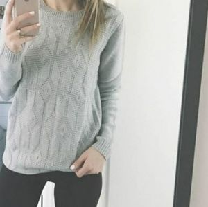NWT Joe Fresh grey sweater